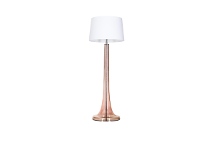 Lampa stołowa Zurich Transparent Copper L213382259